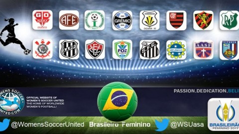 Eight Teams make it into Final Stages Brasileiro Feminino 2017