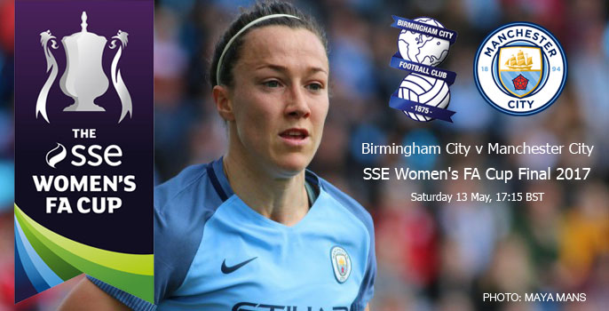Live updates: Birmingham City v Manchester City | SSE Women's FA Cup Final (13 May 2017)