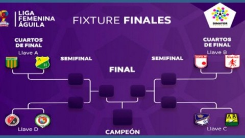 La Liga Femenina Águila 2017 reaches the Final Stage