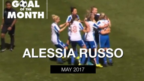 Alessia Russo wins WSU Goal of the Month – May 2017
