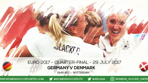 Live updates: Germany v Denmark | UEFA Women's Euro 2017 Quarter-final