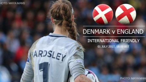 Full-time: Denmark 1-2 England | International Friendly (1 July 2017)