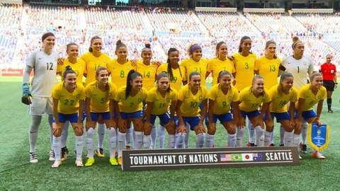 USWNT Faces Tough Test in Second 2017 Tournament of Nations Match vs. Brazil