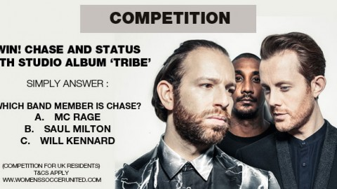 WIN! CHASE AND STATUS ALBUM 'TRIBE'