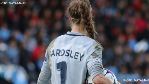 England goalkeeper Karen Bardsley has fractured a fibula and will miss the rest of Euro 2017
