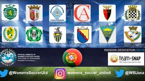 Opening day results in the the Liga Futebol Feminino