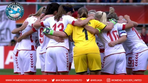Denmark squad announced for international friendly match against USWNT
