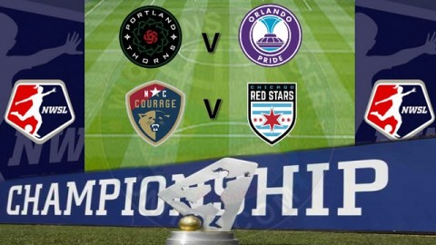 Portland V Orlando, Courage V Chicago Semi Finals NWSL
