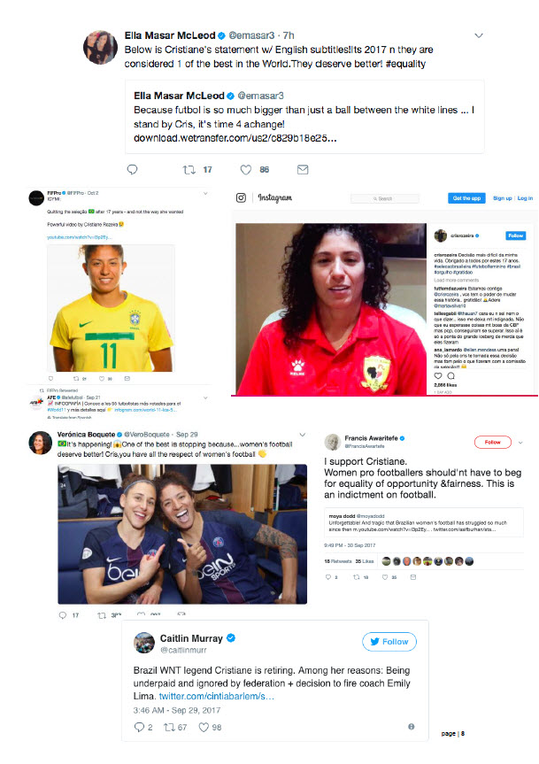 Brazil's Women Football Players in Revolt Against Federation