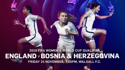WIN | Family ticket for the World Cup qualifier between England and Bosnia & Herzegovina