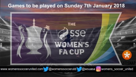 SSE FA Women's Cup 3rd Round Draw Match Fixtures
