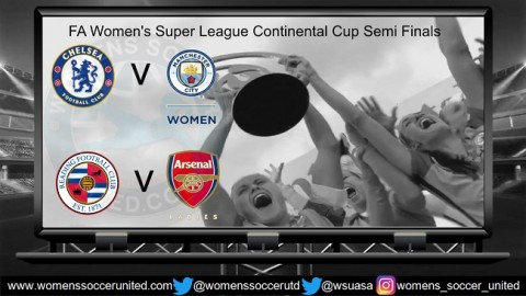 FA Women's Super League Continental Cup Semi Finals Draw