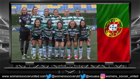 Sporting CP lead Liga Futebol Feminino Allianz 7th January 2018