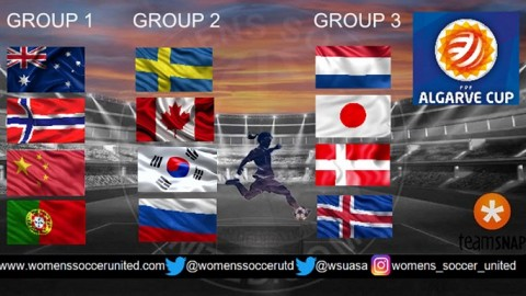 Algarve Cup 2018 Match Fixtures