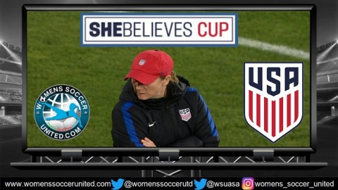 Jill Ellis Names USA Squad for the 2018 Shebelieves Cup