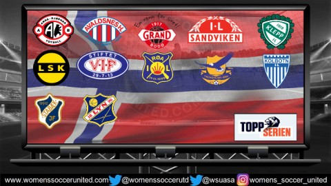 Norway Toppserien League 2018 Season Starts Saturday 24th March