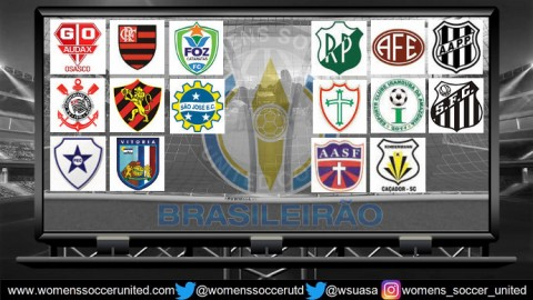 Brasileiro Feminino 2018 Match Day Ten Results 14th July