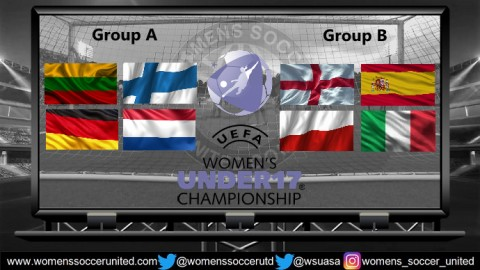 Match Fixtures UEFA Women's U-17 Championship Finals 2018 Lithuania
