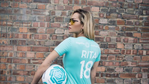 Pop Superstar Rita Ora Kicks-off European Tour With Unique UEFA Partnership To Support Women's Football
