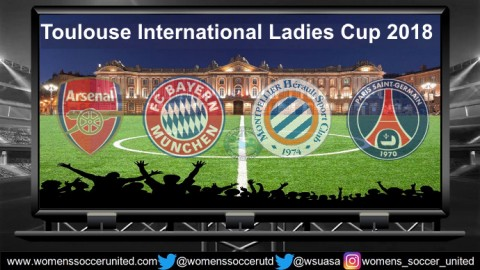 Toulouse International Ladies Cup 2018 Teams and Fixtures