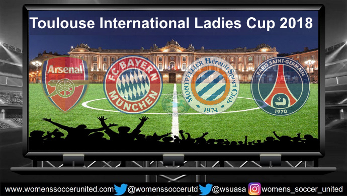 Toulouse International Ladies Cup 2018 TEAMS