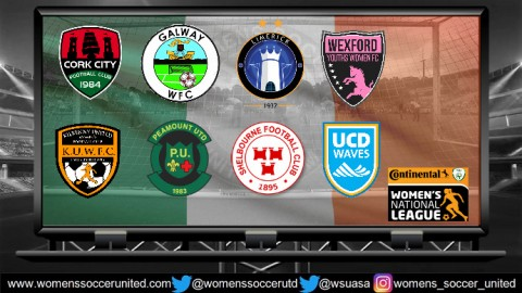 Wexford Youths Lead Continental Tyres Women's National League 16th July 2018