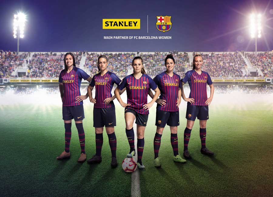 18166f584 STANLEY Becomes the First Main Jersey Partner of FC Barcelona Women s Team