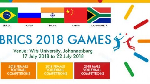 2018 BRICS Games U-17 Women's Football Tournament Fixtures
