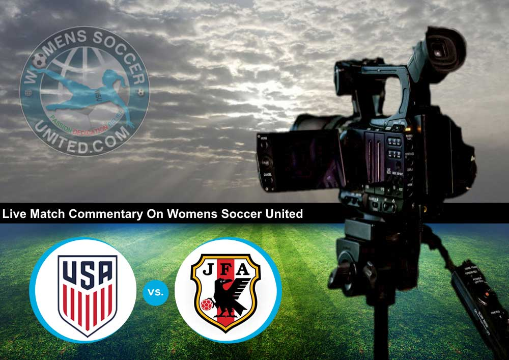 Live Match Commentary: USA v Japan | Tournament of Nations 2018