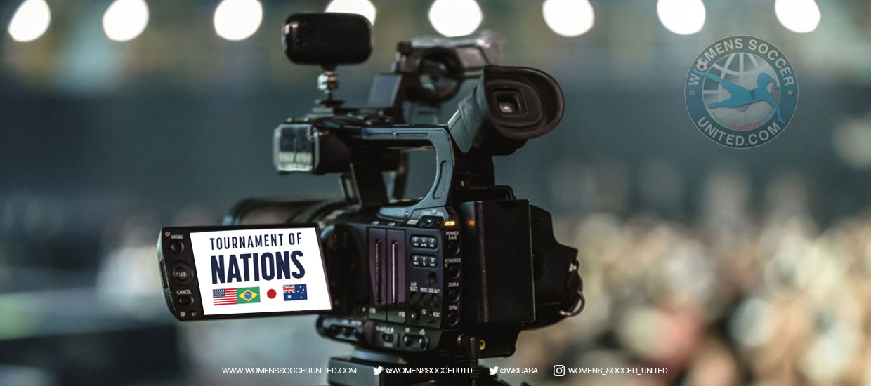 Live TV Broadcast information for Tournament of Nations 2018