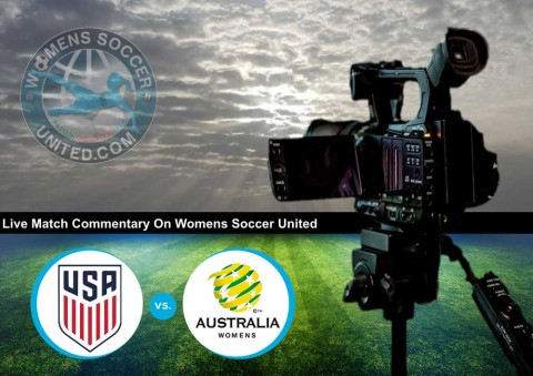 Live match updates: USA v Australia | Tournament of Nations 2018