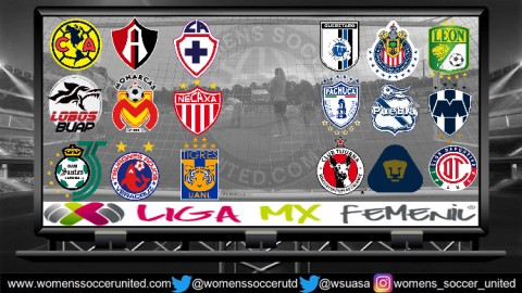 Opening Match Day Results Mexico Liga MX Femenil 2018 Season