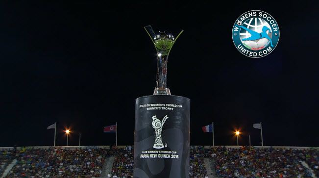 FIFA U-20 Women's World Cup trophy