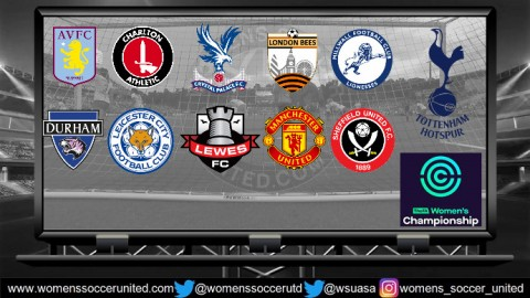 FA Women's Championship match fixtures for the 2018-19 Season