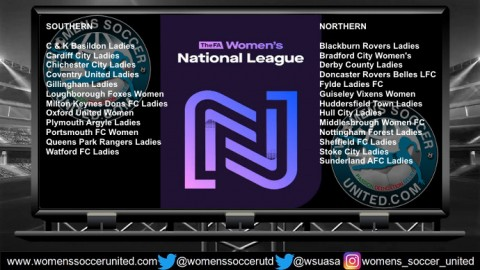 FA Women's National Southern and Northern League Results 26th August