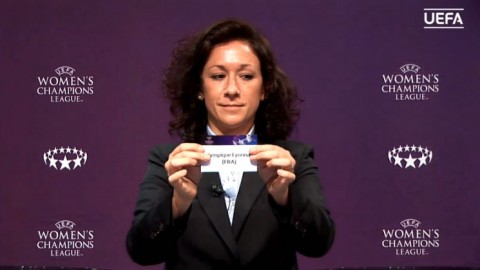 Result of the 2018/19 UEFA Women's Champions League Round of 32 draw