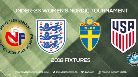 Under-23 Women's Nordic Tournament 2018 Fixtures