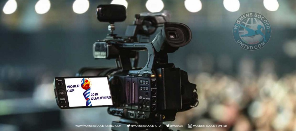 Broadcast information for UEFA qualifiers for the FIFA Women's World World Cup 2019 (30 August - 1 September 2018)