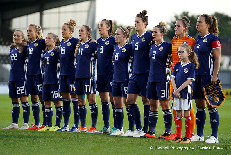 Scotland beat Switzerland 2-1 to keep World Cup dreams alive in front of a record crowd of 4,098.