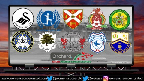 Wales Women's Premier League Opening Day Games 2nd September 2018