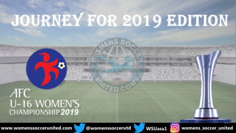 AFC Under 16 Women's Championship Qualifiers Round One Fixtures 2019
