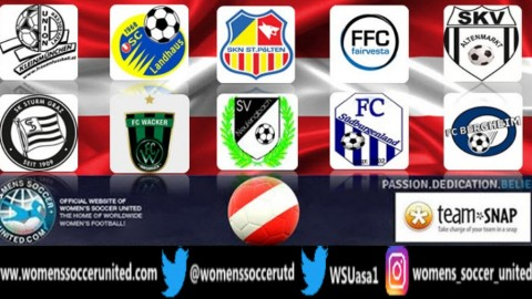 SKN St Pölten Frauen lead Austria Frauenliga 5th November 2018