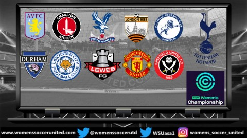 Manchester United lead the FA Women's Championship 14th October 2018