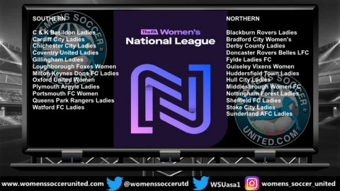 FA Women's National Southern and Northern League Results 9th September