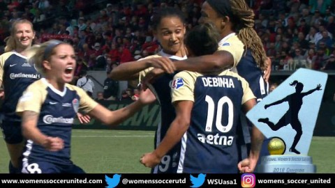 HISTORY! NC Courage Claim NWSL Championship with 3-0 Win Over Portland in front of 21,144 fans!