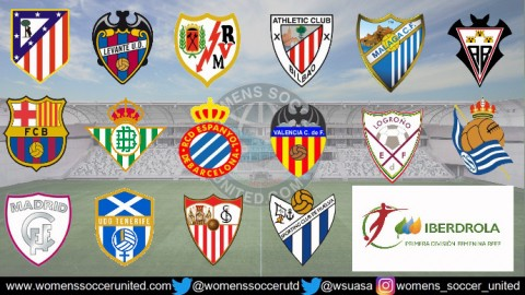 Atletico Madrid Femenino lead Spanish Liga Femenina Iberdrola 6th January 2019