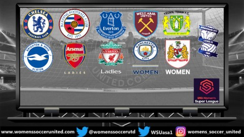 Arsenal WFC lead FA Women's Super League 21st April 2019