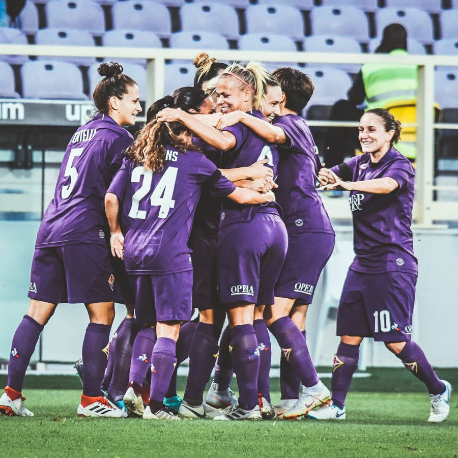 Fiorentina Women's FC makes history again! Onwards to Champions League