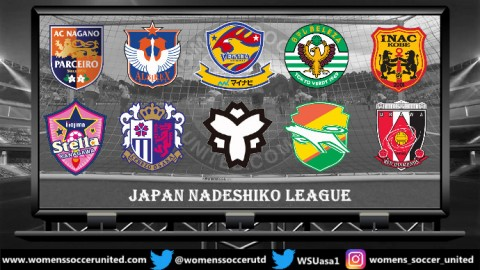 NTV Beleza lead the Japan Nadeshiko League 13th October 2018