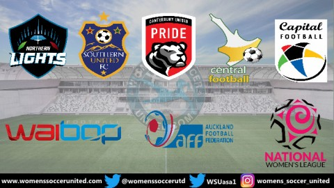 Canterbury United Pride Lead New Zealand National Women's League 4th November